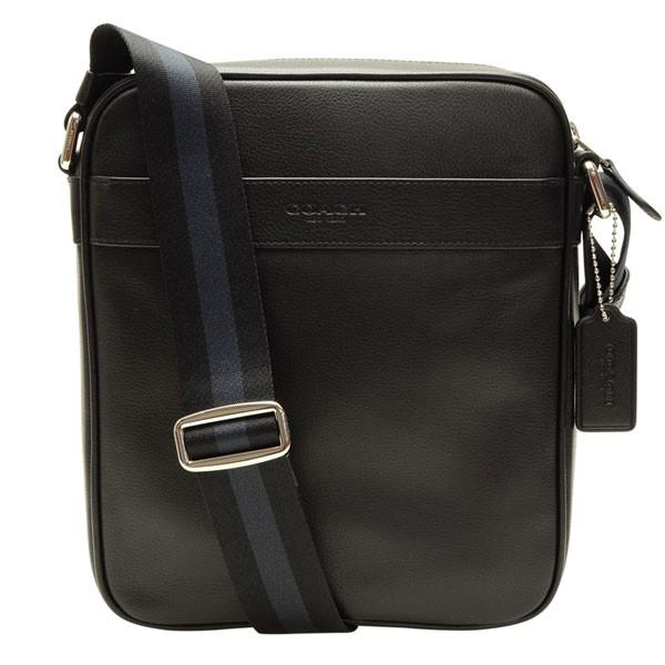 コーチ COACH ショルダーバッグ f54782blk | ショルダー バック バッグ 鞄 かばん 通勤 肩掛け 斜め掛け 斜めがけ コンパクト メンズ かっこいい おしゃれ オシャレ ブランド レザー 本革 プレゼント アウトレット