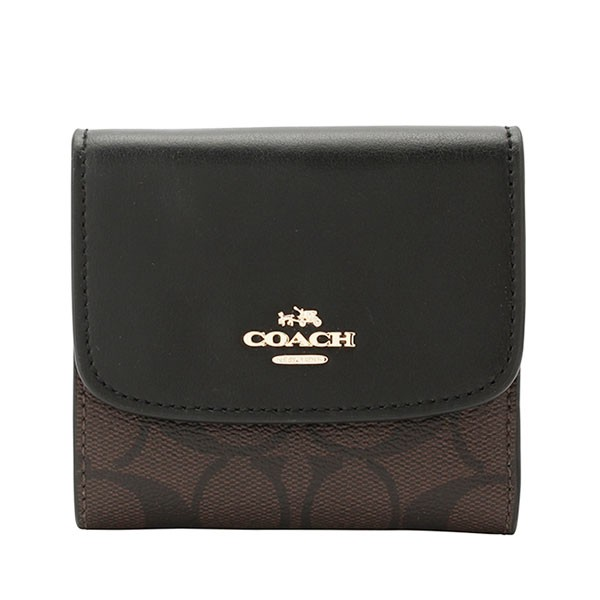 0a9eaa63239f COACH コーチ アウトレット 二つ折り財布 f87588imblk 財布