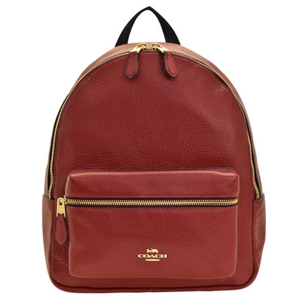 コーチ COACH バッグ リュックサック バックパック アウトレット f30550imche | バック バッグ 鞄 かばん 通勤 レディース かわいい 可愛い おしゃれ おすすめ ブランド レザー ワインカラー