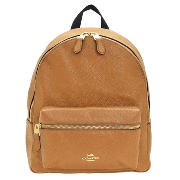 コーチ COACH リュックサック f30550imlqd | リュック バックパック バック バッグ 鞄 かばん シンプル 大きい 大きめ 大容量 かわいい 可愛い おしゃれ おすすめ 通勤 通学 レディース ブランド レザー 本革 アウトレット
