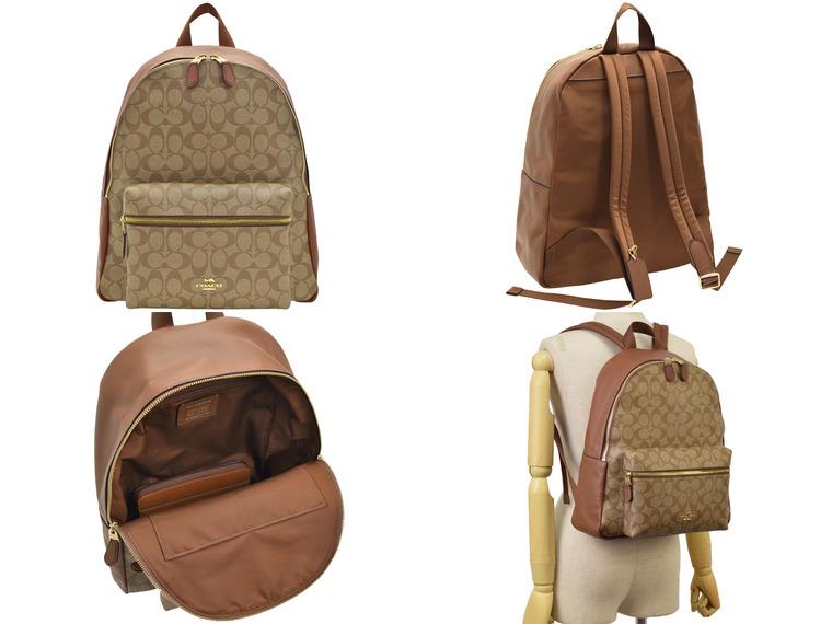8e83df9561c5 コーチ/COACH [ カバン ] 鞄 コーチ定番シグネチャー柄のリュックサック入荷!シンプルなデザインなのでギフトにもおすすめ。