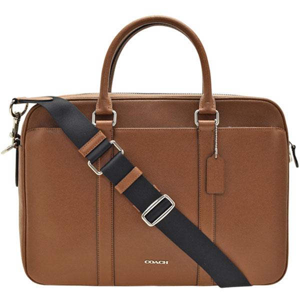 コーチ COACH ブリーフケース ビジネスバッグ 2wayショルダーバッグ メンズ アウトレット f59057cwh | ショルダー バック バッグ 鞄 かばん 通勤 A4 肩掛け 斜め掛け 斜めがけ かっこいい おしゃれ オシャレ ブランド レザー 令和 記念