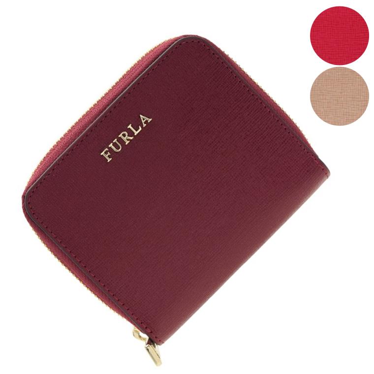 フルラ FURLA 二つ折り財布 ラウンドファスナー pr84 | ウォレット サイフ さいふ 財布 ミニ財布 ファスナー 小銭入れ カード入れ 多い レディース かわいい 可愛い 大人可愛い 使いやすい オシャレ おしゃれ ブランド 本革 令和 記念