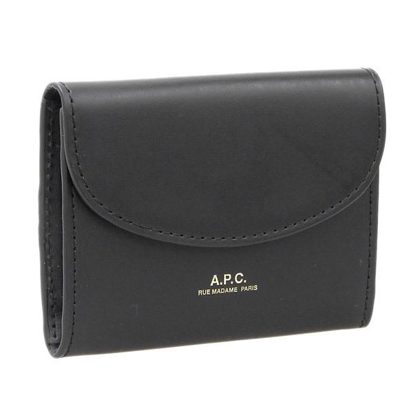 APC アーペーセー 新作 完全送料無料 市場 カードケース 名刺ケース BLACK ブラック レディース LZZ f63349pxawv-noir