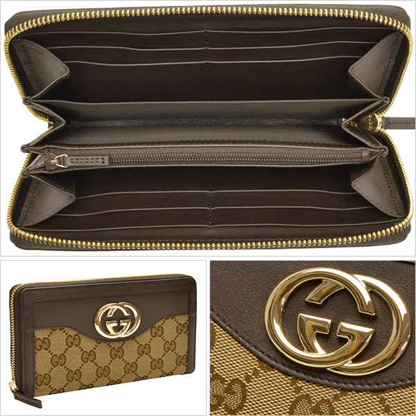 a8b9af3b04b GUCCI  wallet  wallet. The big GG logo of the front desk becomes the brand  appeal and directs sense of quality. The round type with many storing  powers is ...