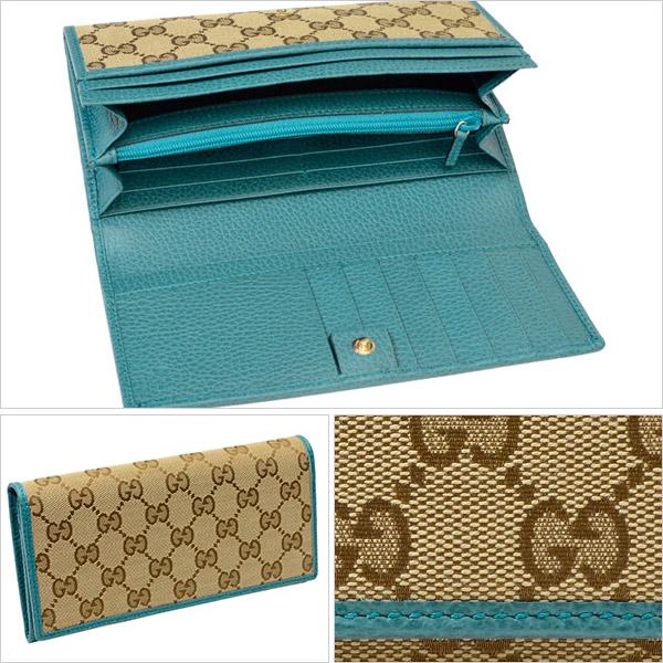 10b31702cd6a GUCCI [ サイフ ] 財布定番人気のGGキャンバスにレザーで縁取りされたデザインがお洒落、かつ上品なデザインのお財布です。シンプルながらも機能的で、カードポケット  ...