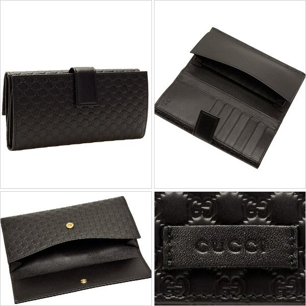 276c448243d1 GUCCI [ サイフ ] グッチ 財布上品なグッチシマレザーがお洒落な二つ折り長財布です。フロントのレザータグにグッチの刻印が施され、高級感をプラス。