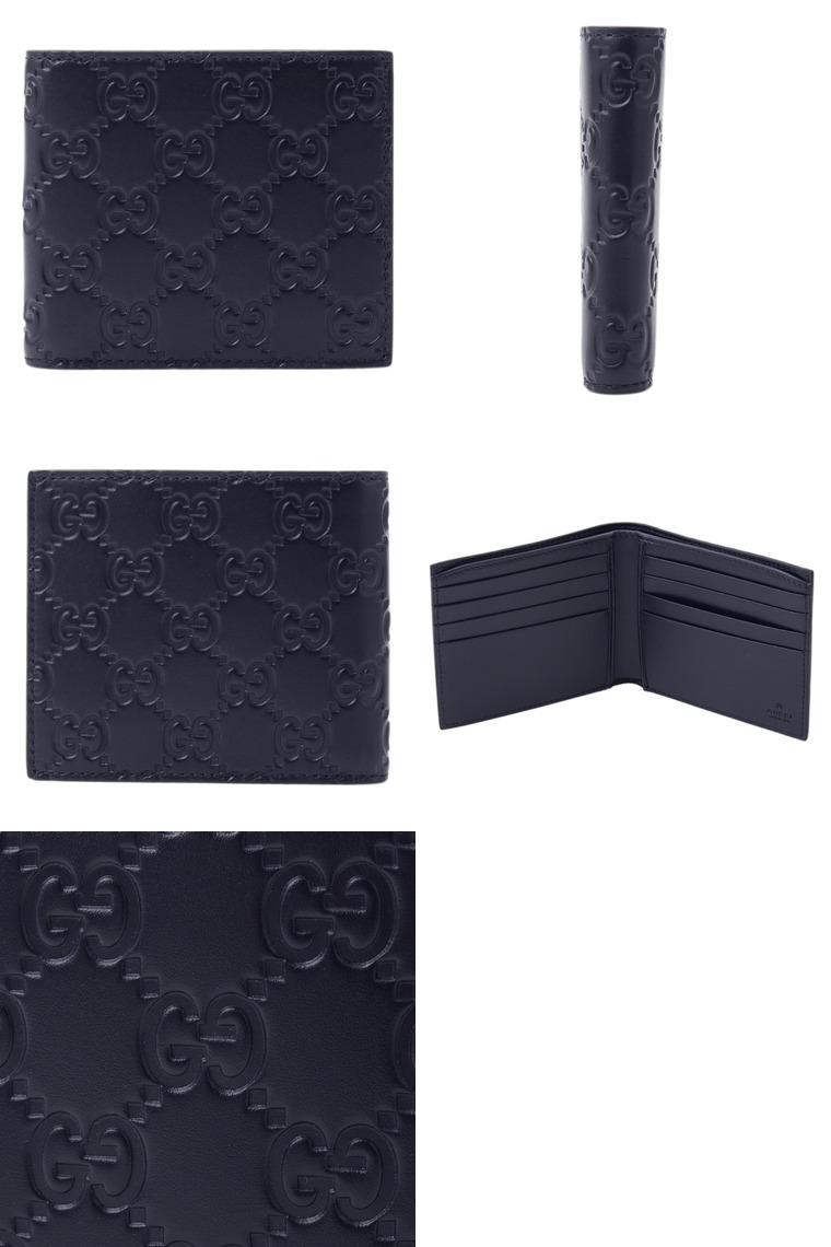 e04b33770279 GUCCI [ サイフ ]財布 AVEL グッチのメンズ折財布が入荷?シンプルなデザインのお財布はカード収納もあり、機能的な財布。使いやすい二つ折 タイプ☆