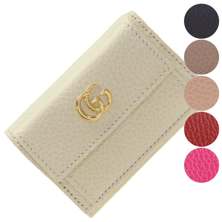 グッチ GUCCI 三つ折り財布 ミニ 523277cao0g | さいふ サイフ ウォレット 財布 カード入れ 多い レディース コンパクト かわいい 可愛い 使いやすい おしゃれ オシャレ ブランド レザー 令和 記念