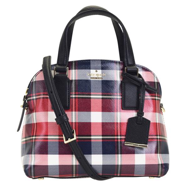 ケイトスペード KATE SPADE 2wayショルダーバッグ チェック柄 pxru9157-924 | バック バッグ 鞄 かばん 2WAY 通勤 肩掛け 斜め掛け 斜めがけ レディース かわいい 可愛い ブランド