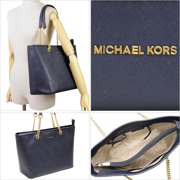 0f0ead49a4d6 MICHAEL MICHAEL KORSカバン[マイケルマイケルコース]鞄. A4サイズも収納できる大容量のトートバッグです。上品なフォルムにチェーンが施されたハンドルは高級感あり、  ...