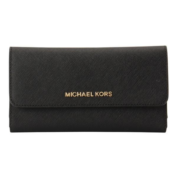 マイケル マイケルコース 長財布 三つ折り MICHAEL MICHAEL KORS レディース 35s8gtvf7l-black アウトレット