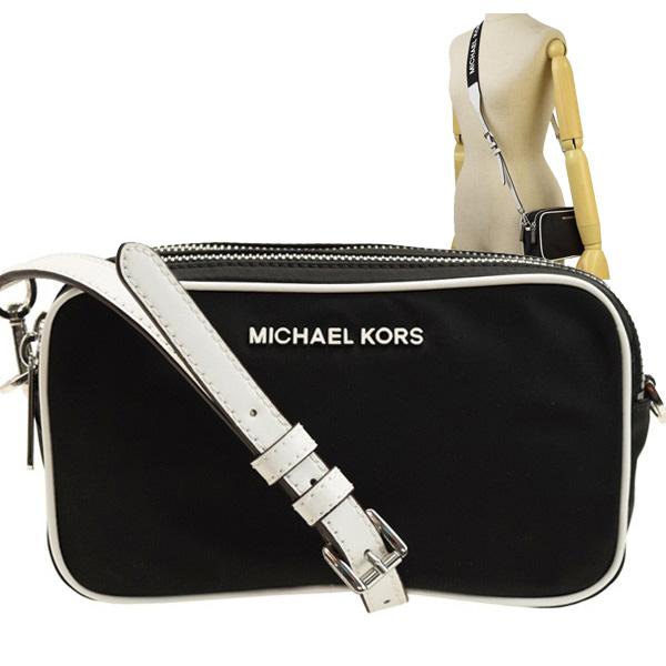 マイケル マイケルコース MICHAEL MICHAEL KORS 斜めがけショルダーバッグ アウトレット 35s9si7m5c-bkopwht | バッグ バック ショルダー かばん 鞄 通勤 肩掛け 斜め掛け レディース かわいい 可愛い オシャレ おしゃれ ブランド 本革 令和 記念