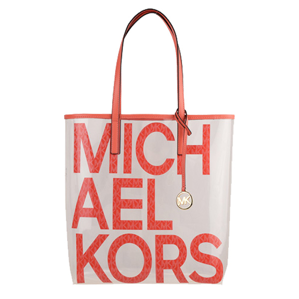 マイケル マイケルコース MICHAEL MICHAEL KORS トートバッグ クリアバッグ ロゴ THE MICHAEL BAG LG 30s0g01t3p-636 | トート ショルダー バッグ バック クリア かばん 鞄 通勤 A4 肩掛け オシャレ おしゃれ かわいい 可愛い レディース ブランド