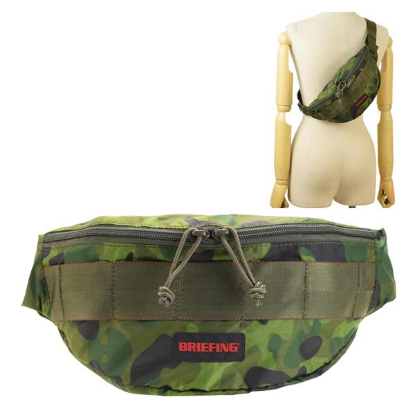 ブリーフィング BRIEFING ウエストバッグ ショルダーバッグ メンズ カモフラージュ brm181204-163-zz | バッグ バック かばん 鞄 肩掛け 斜め掛け 斜めがけ 迷彩柄 コンパクト旅行 オシャレ おしゃれ ブランド