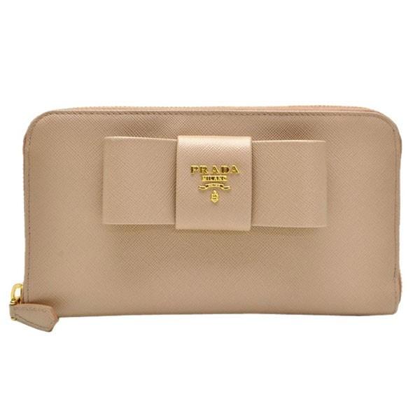 ef9d38cba204 ... discount code for prada wallet prada round fastener long wallet beige  pink leather 1m0506saffio camme 97c31