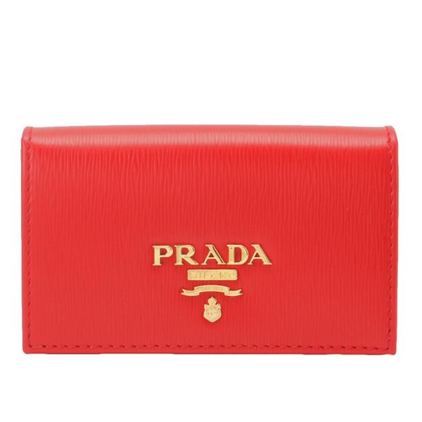 PRADA プラダ 財布 新品 全品送料無料 レディース 登場大人気アイテム ショップ袋付き カードケース 名刺入れ ファッション 送料無料 オシャレ かわいい おしゃれ 可愛い 1mc122vimo-lac1-zz