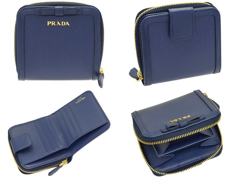 8310c11063ab プラダ/PRADA [ サイフ ] 財布 セレブに人気のプラダ!人気の定番デザインに、上質なレザー素材を使用したお財布 。上品なカラーは末永く使えそうです!