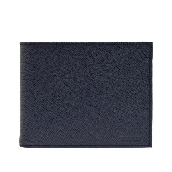 プラダ PRADA 二つ折り財布 メンズ 2mo002saf1-balt アウトレット 令和 記念