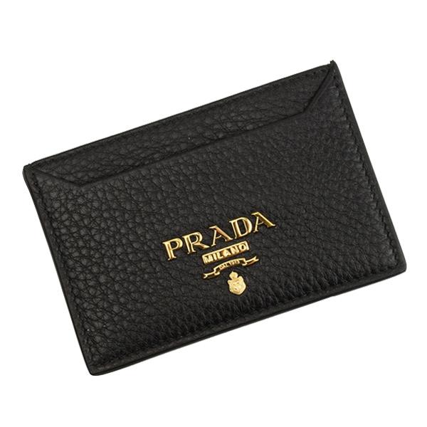 PRADA プラダ カードケース メンズ アウトレット 人気商品 1mc208vigr-nero-zz スリム 薄い レディース おしゃれ 情熱セール かっこいい オシャレ ブランド レザー キャッシュレス ユニセックス