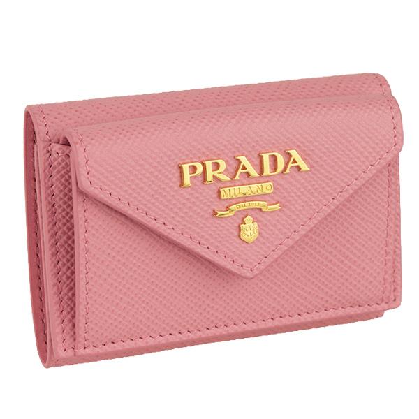 通販 激安◆ PRADA プラダ 財布 新品 三つ折り財布 レディース 1mh021sacu-peta-zz アウトレット 内祝い
