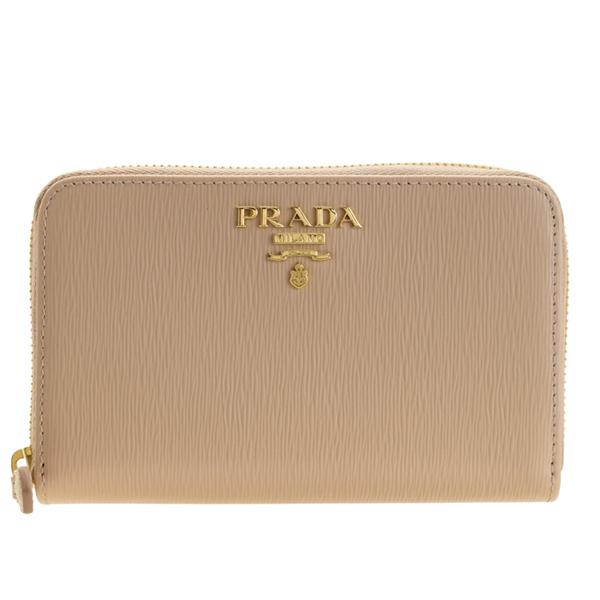 プラダ PRADA ショップ袋付き ラウンドファスナー長財布 アウトレット 1ml157vitmov-cipr | 財布 さいふ サイフ ウォレット レディース ブランド カード入れ 多い 可愛い オシャレ おしゃれ かわいい レザー