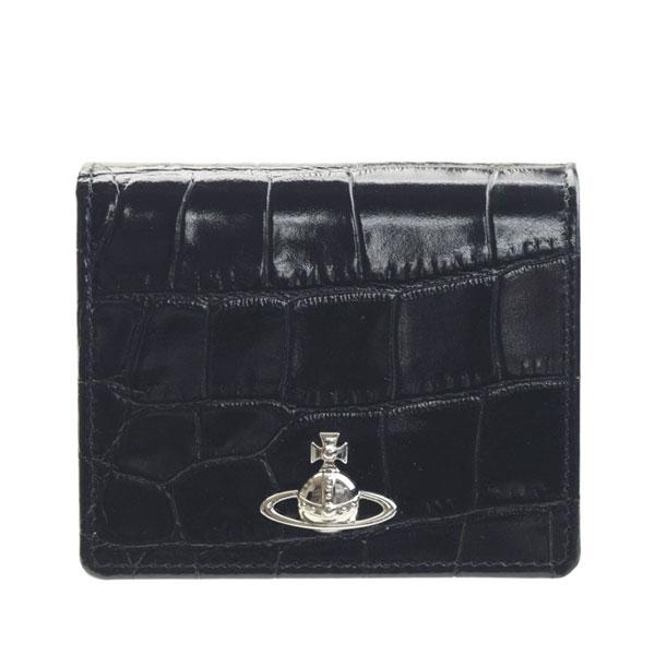ヴィヴィアン・ウエストウッド Vivienne Westwood 二つ折り財布 51010024-40514 | ウォレット サイフ さいふ 財布 コンパクト レディース かわいい 可愛い オシャレ おしゃれ 使いやすい ブランド レザー 秋
