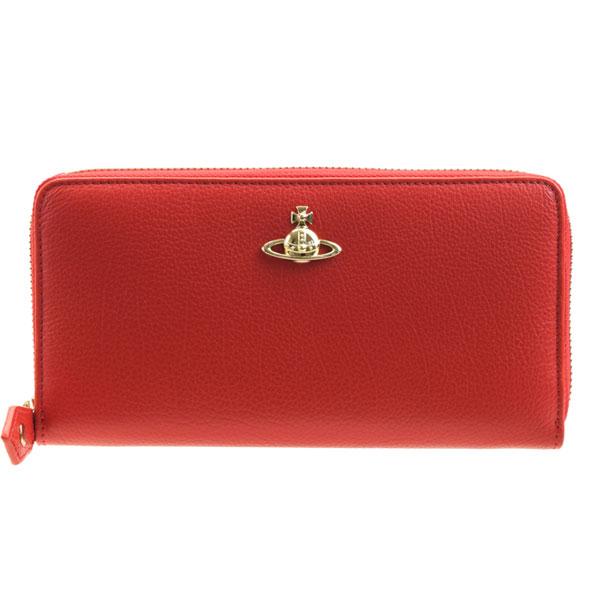ヴィヴィアン・ウエストウッド Vivienne Westwood ラウンドファスナー長財布 51050022-40212r | ウォレット サイフ さいふ 財布 ファスナー 小銭入れ カード入れ 多い かわいい 大人可愛い オシャレ おしゃれ ブランド レザー 秋