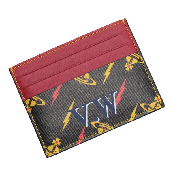 ヴィヴィアン・ウエストウッド Vivienne Westwood パスケース 定期入れ 51110027-40239 | 定期入れ IDカードホルダー ICカード カード入れ ケース メンズ オシャレ おしゃれ ブランド