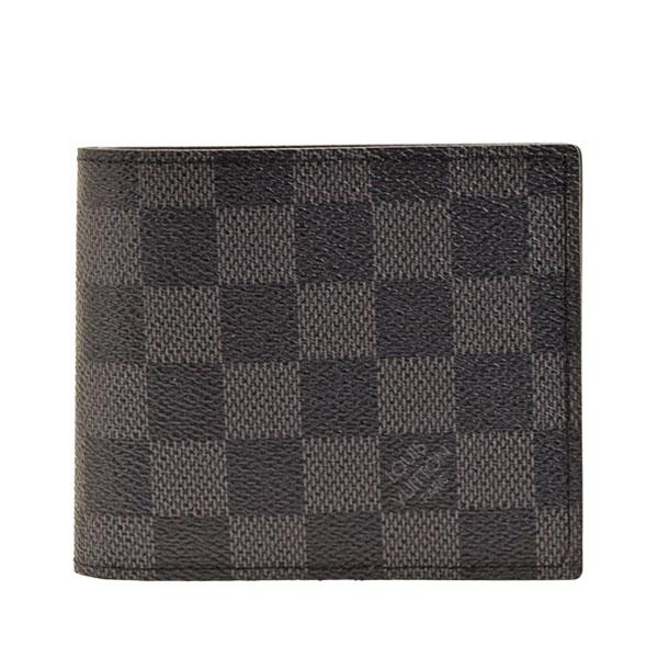 ルイヴィトン LOUIS VUITTON 二つ折り財布 LV メンズ n63336   ウォレット サイフ さいふ 財布 小銭入れ カード 収納 かっこいい オシャレ おしゃれ コンパクト 使いやすい ブランド 春 令和 記念