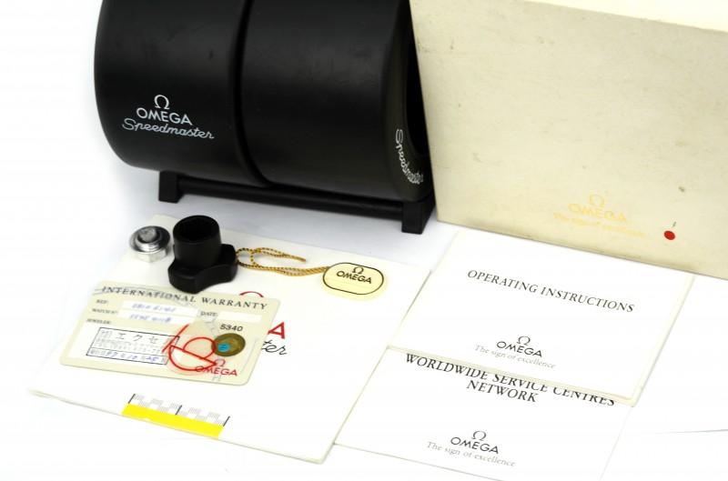 OMEGA SPEEDMASTER速度主人减少米歇尔·舒马赫3810.61