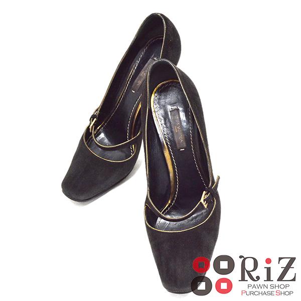 【値下げ品】【中古】 LOUIS VUITTON (ルイヴィトン) ハイヒール 靴 靴/レディース Black/ブラック