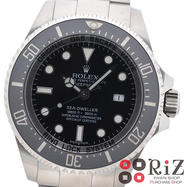 【美品】【中古】 ROLEX (ロレックス) シードゥエラー ディープシー 時計 自動巻き/メンズ Black/ブラック 116660 unused:S