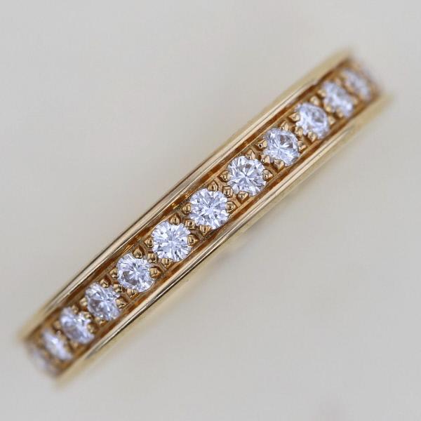 【中古】 Cartier (カルティエ) エタニティ フルダイヤ リング 750 ブランドジュエリー 指輪  B4086500 used:A