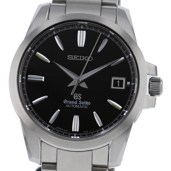 【中古】 GRAND SEIKO (グランドセイコー) SBGR057 メカニカル 時計 自動巻き/メンズ メカニカル Black 9S65/00C0 used:A