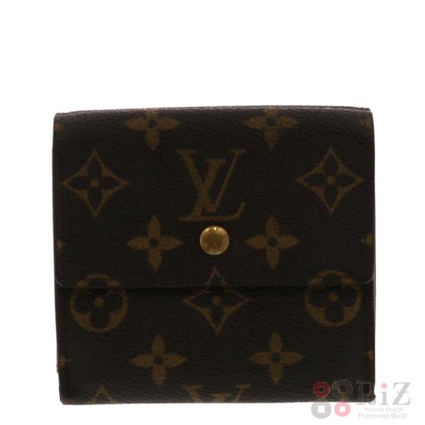 【中古】 LOUIS VUITTON (ルイヴィトン) ポルトフォイユ・エリーズ 財布 二つ折り財布(小銭入有) Monogram モノグラム M61654 used:B