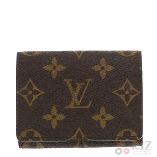 【中古】LOUIS VUITTON (ルイヴィトン) アンヴェロップ・カルトドゥヴィジット 小物 名刺入れ/カードケース  M62920 used:B