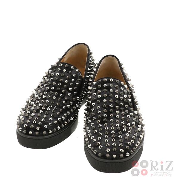 【中古】 Christian Louboutin (クリスチャンルブタン) Roller Boat Men's Flat 靴 靴/メンズ Roller Boat Gradation 3160885 used:B