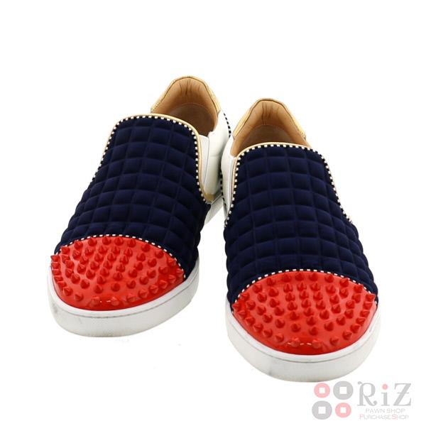 【中古】 Christian Louboutin (クリスチャンルブタン) Nazapunta Orlato Flat 靴 靴/メンズ Sneakers FREE used:B