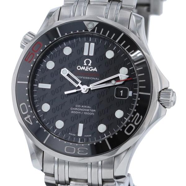 【即日発送】【美品】【中古】 OMEGA (オメガ) シーマスター プロフェッショナル 300M コーアクシャル 時計 自動巻き/メンズ Seamaster/diver Black/ブラック 212.30.41.20.01 used:A
