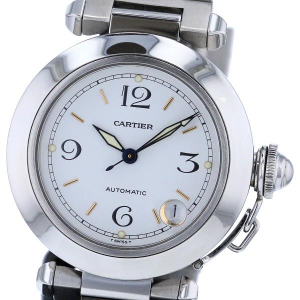 【中古】Cartier (カルティエ) パシャC 時計 自動巻き/ボーイズ PASHA C White W31015M7 used:A