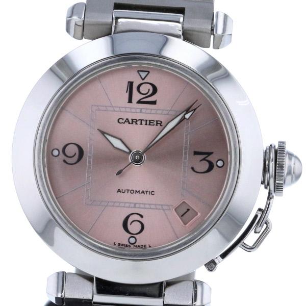 【中古】Cartier (カルティエ) パシャC 時計 自動巻き/ボーイズ Pink W31075M7 used:A