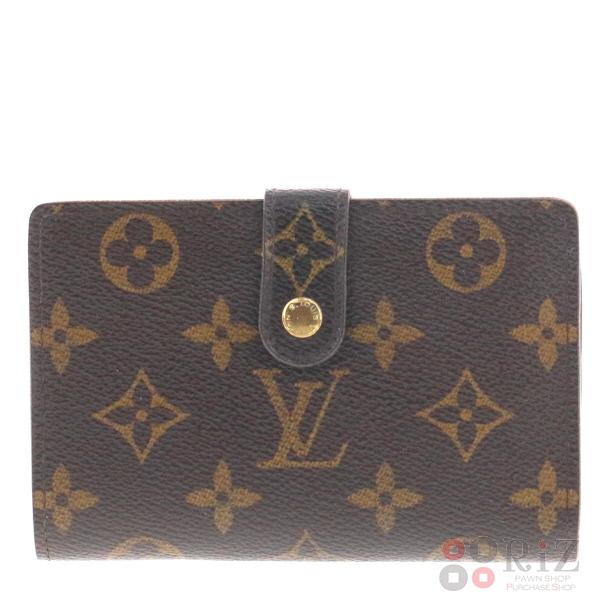 【中古】LOUIS VUITTON (ルイヴィトン) ポルトモネ・ビエヴィエノワ 財布 二つ折り財布(小銭入有) Monogram M61663 used:B