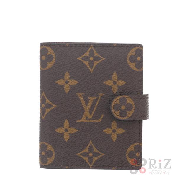【中古】LOUIS VUITTON (ルイヴィトン) アジェンダ・ミニ 小物 手帳/パスポートカバー/ノート  R20007 used:A
