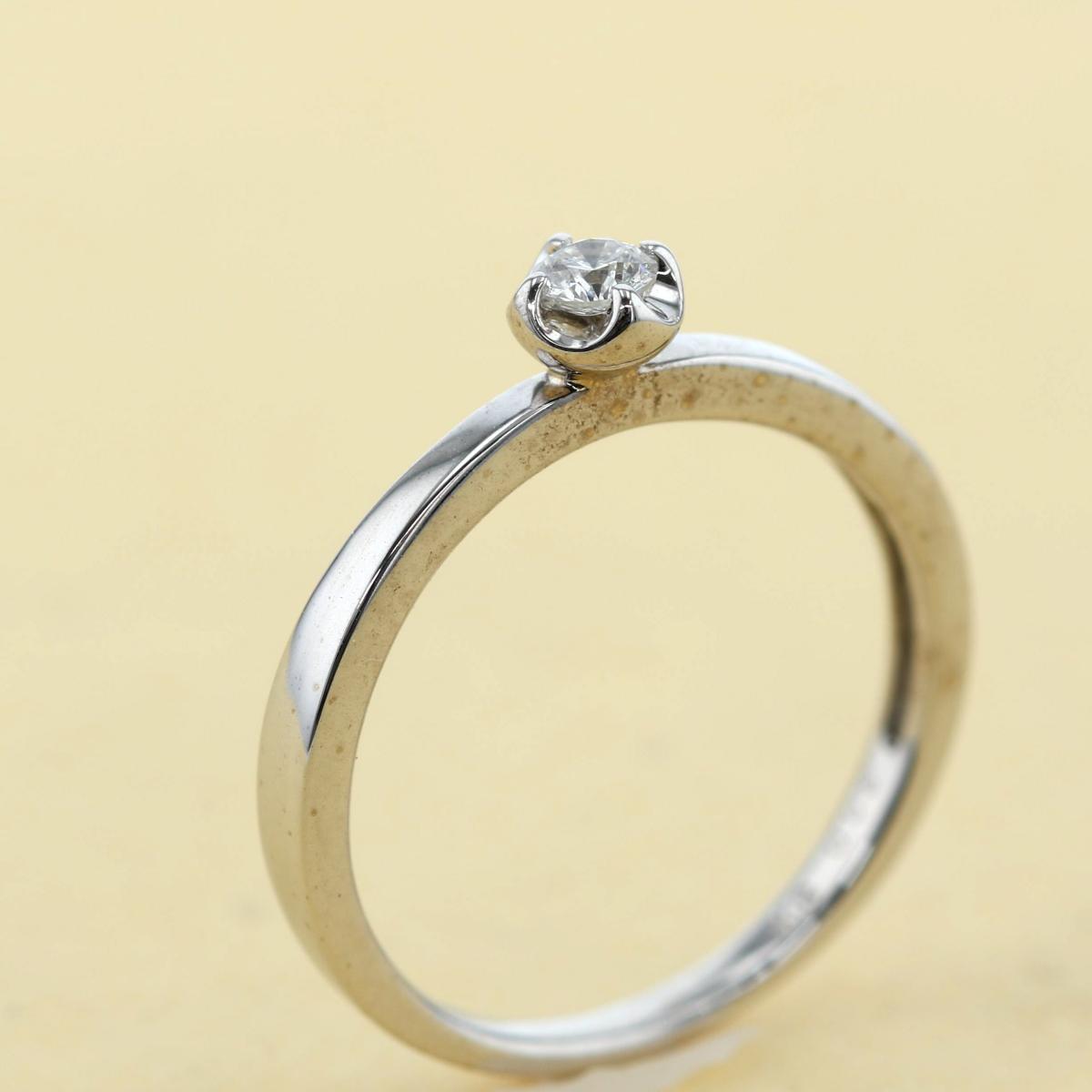 【中古】Vendome Aoyama (ヴァンドーム アオヤマ) K18WG ダイヤモンドリング ブランドジュエリー 指輪 Ring White Gold/ホワイトゴールド FREE used:A