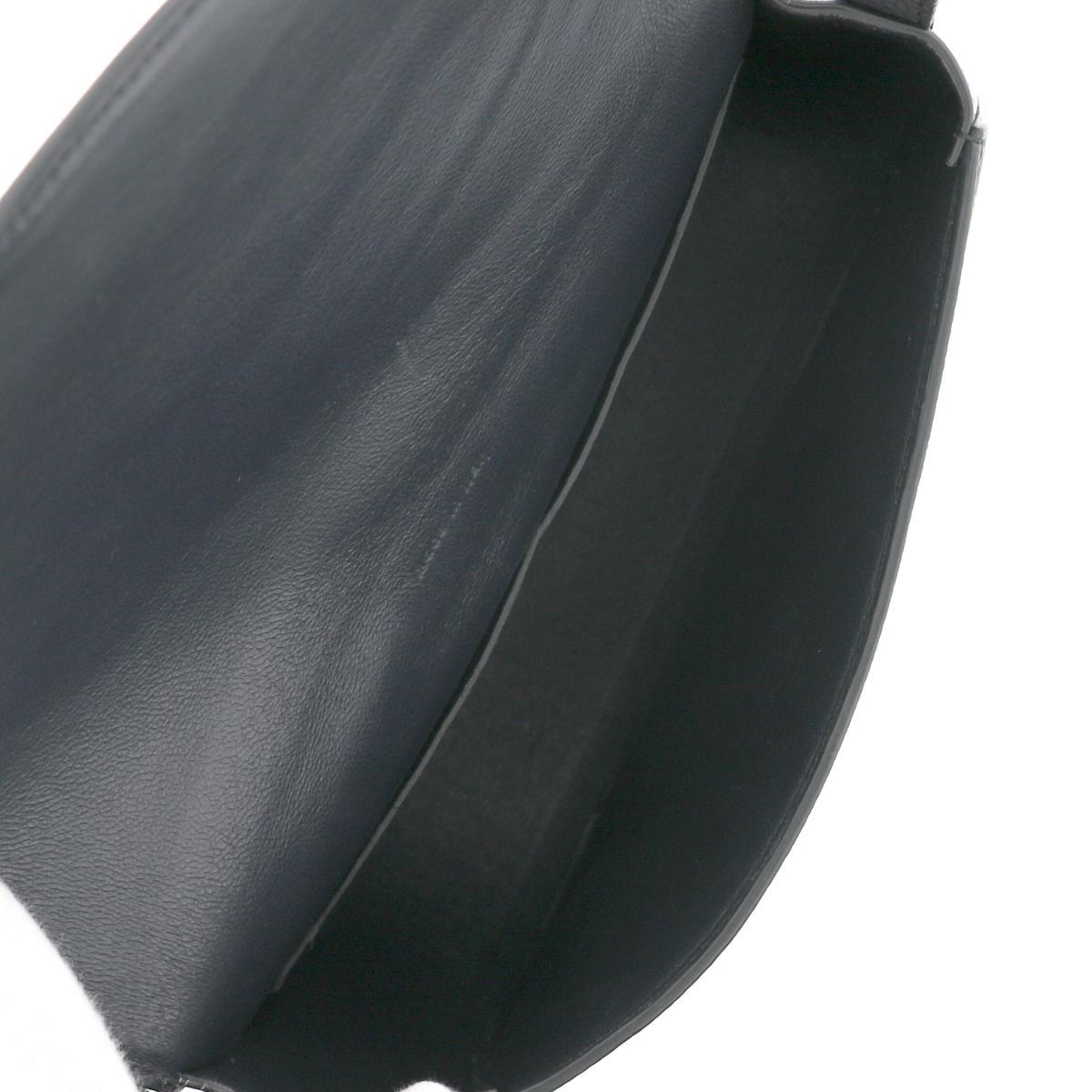 お値下げ品CELINEセリーヌトロッター ミディアム ショルダーバッグ バッグ ショルダー メッセンジャーバッグBlack 179013 used Aq54RjL3A