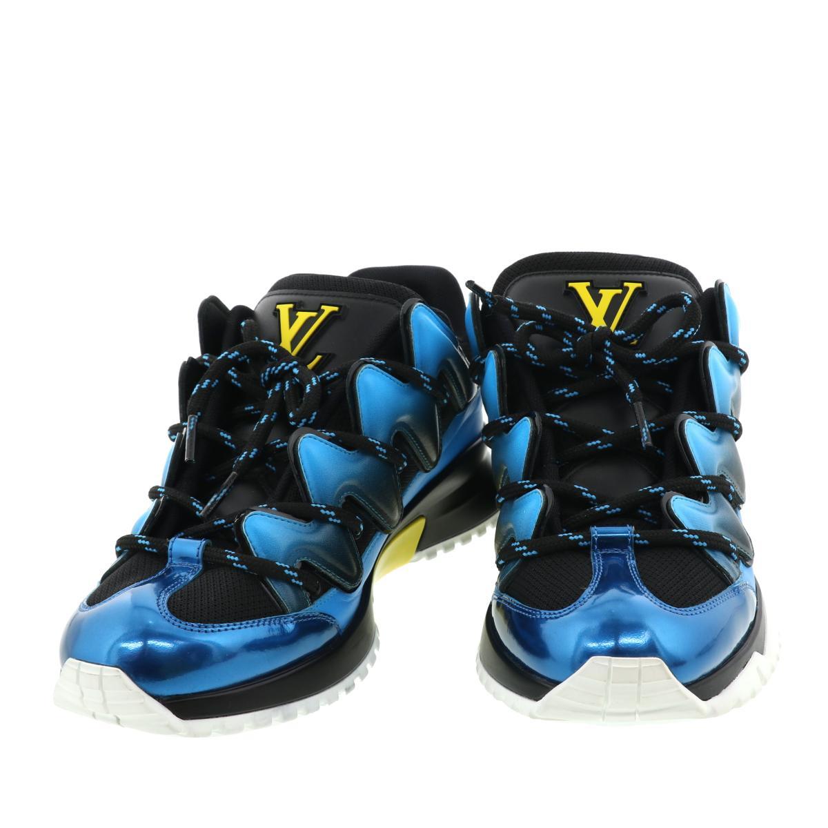 LOUIS VUITTON ルイヴィトン ヴィトン LV モノグラム ダミエ ヴェルニ エピ 完全送料無料 バッグ アルマ キーポル 日本産 ロゴ ネヴァーフル パピヨン Logo ポルトフォイユ ソミュール Sneakers 未使用品 ジグザグライン スニーカーブルー Zigzag スピーディ