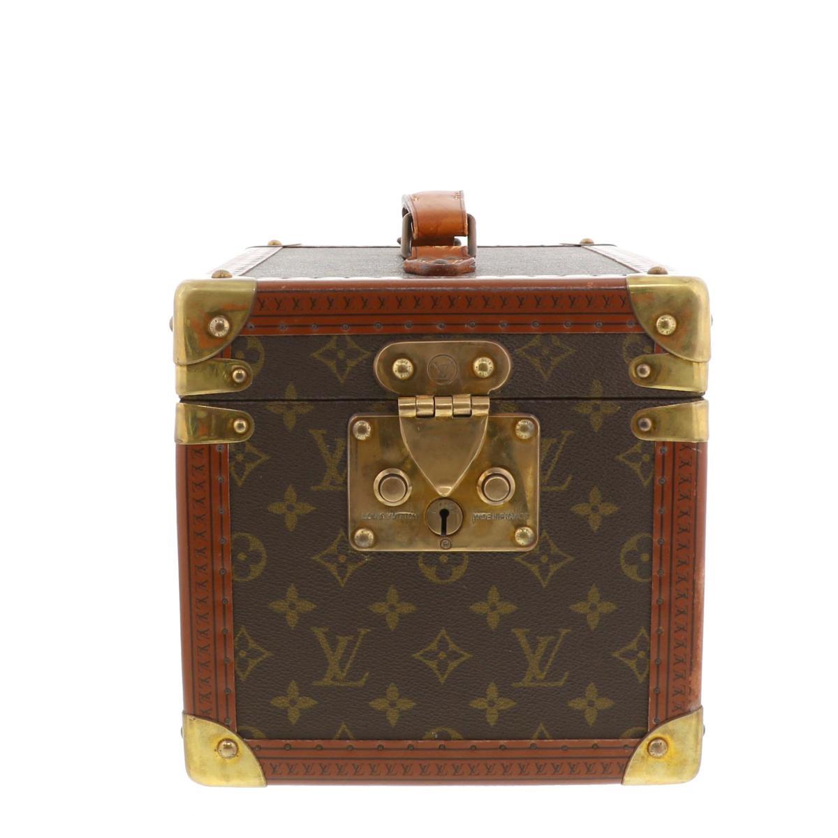 【中古】 LOUIS VUITTON (ルイヴィトン) ボワット・フラコン バッグ キャリーバッグ/スーツケース  M21828 used:B