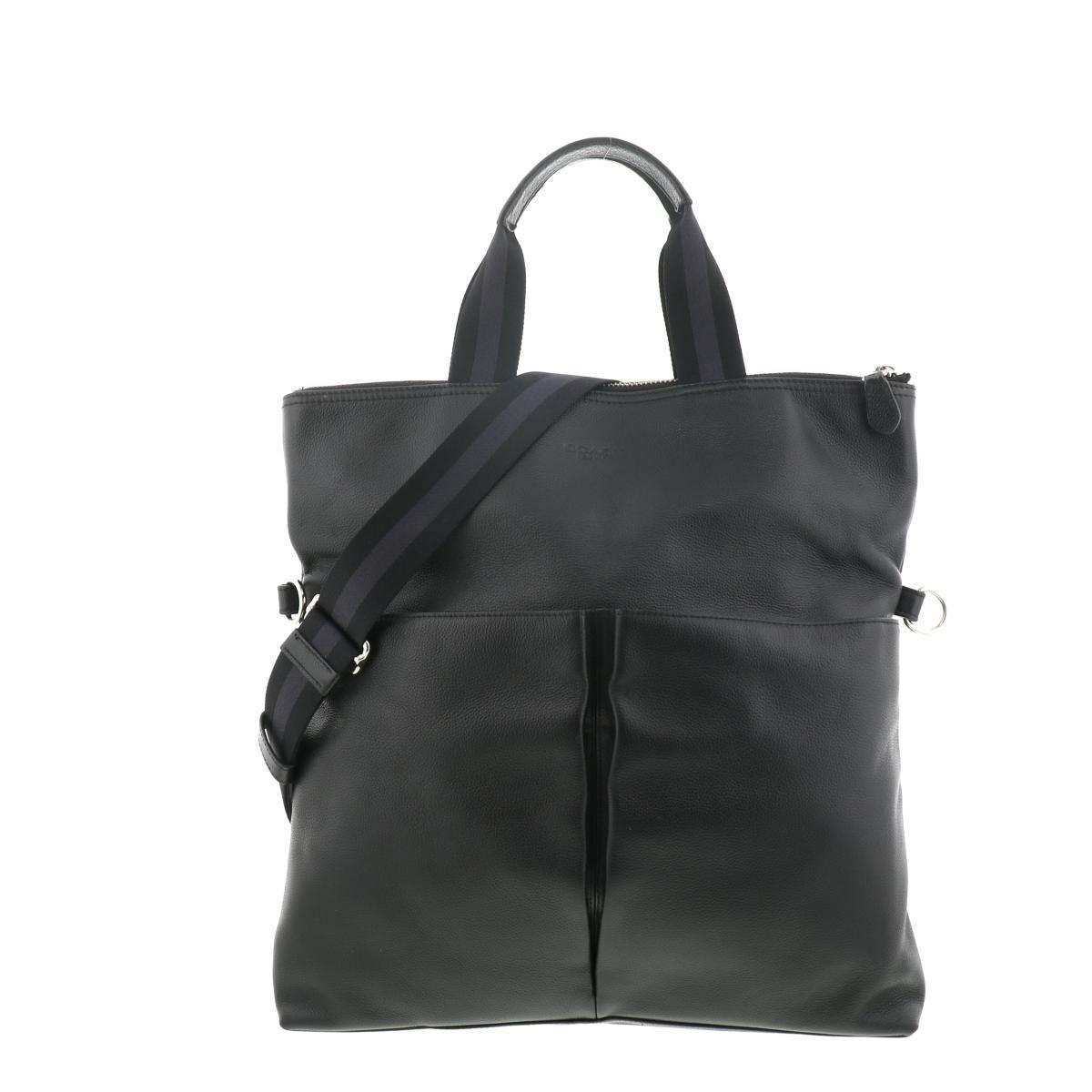 即日発送 新品 ラッピング無料 COACH コーチ サリバン F54759 トートバッグ メッセンジャーバッグ 中古 2WAY 贈与 Lether Black Coach USED: Bag Mens A Messenger Sullivan ブラック