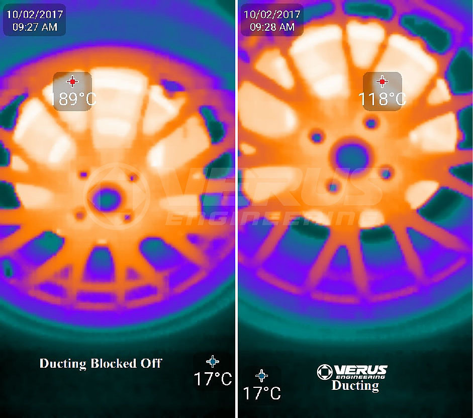 VERUS ENGINEERING(VELOX)A0114A:MAZDA ROADSTER(ND5RC):ブレーキクーリングパッケージ